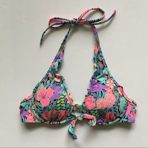 Victoria's Secret Halter Push-up Bikini Top32B